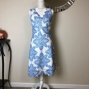 Anthropologie Eva Franco Starflower Dress Size 8